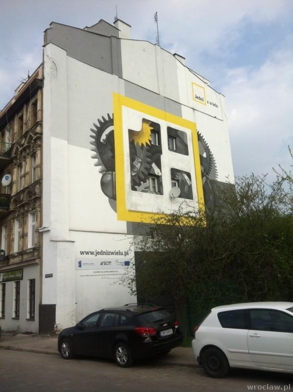 mural ul. ks. Witolda